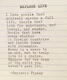 Explore Life. Gypsy Chronicles no. 50