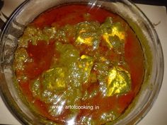 Palak Paneer, a famous vegetarian North India  dish