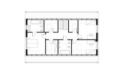 Dom w Sulejówku Apartments, New Homes, Floor Plans, Houses, House Design, How To Plan, Detached House, Build House, Homes