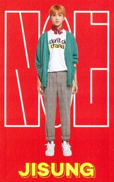 NCT Season's Greetings 2019 — Accordion Calendar: Jisung Nct 127, Park Ji Sung, Red Team, Sm Rookies, Jisung Nct, Jung Woo, Tvxq, Winwin, K Idols