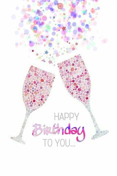 Mensagem de aniversário - Happy Birthday