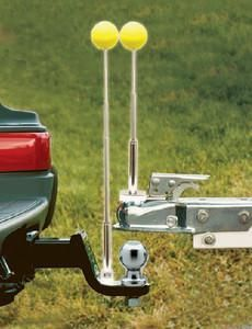 "Vehicle & Trailer Hitch Alignment SystemSize: 5.88"" L x 2.5"" W x 15.25"" HMFG Part Number: 63300"