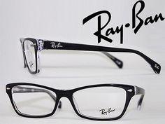 【送料無料】メガネフレーム RayBan ブラック×クリア スクエア型 レイバン 眼鏡 めがね 0RX-5256-2034 ブランド/メンズ&レディース/男性用&女性用/度付き・伊達・老眼鏡・カラー・パソコン用PCメガネレンズ交換対応/レンズ交換は6,800円~【楽天市場】 Chrome Hearts, Ray Ban Sunglasses, Eyewear, Ray Bans, Mens Fashion, Style, Lenses, Ray Ban Glasses, Moda Masculina
