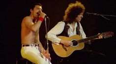 """""""Love of My Life"""" is a ballad by Queen from their 1975 album A Night at the Opera. The song was written by Freddie Mercury about Mary Austin, with whom he ha. Brian May, John Deacon, Imagine John Lennon, Queen Band, Best Songs, Love Songs, Elvis Presley, Music, British"""