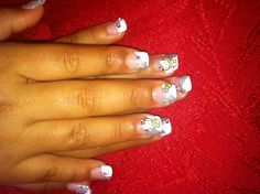 Hello kitty nails for little girls