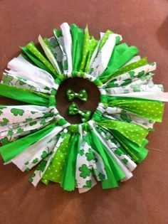 St. Patty's Day outfit for Abigail?!?! CUTE!