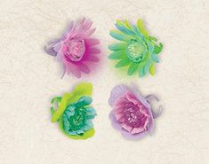"""Amscan Sweet Stuff Light Up Flower Ring Party Favors, Apple Green/Hot Pink, 1 5/8"""" *** Check out the image by visiting the link."""