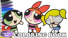 The Powerpuff Girls Coloring Episode 22 – Bubbles, Blossom and Buttercup #thepowerpuffgirls #powerpuffgirls #bubbles #blossom #buttercup #powerpuffgirlscoloring #coloringBook #coloringpage #coloring #happymagictoys #happymagictoysppg