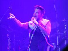 01/08/16 Adam Lambert TOH Tour Tokyo, Japan