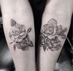 Love rose tattoos!