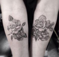 Love rose tattoos!