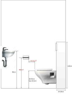 bathroom floorplan and distances between parts Washroom Design, Bathroom Design Luxury, Bathroom Design Small, Modern Bathroom, Master Bathroom, Wc Design, Toilet Design, Bathroom Plumbing, Bathroom Toilets