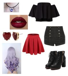 """""""Grunge"""" by fashsionqueen on Polyvore featuring Doublju, Pierre Balmain and Betsey Johnson"""