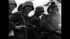 Battle of Aachen / Germany / Second World War / 1944 | HD Stock Video 917-794-120 | Framepool Stock Footage