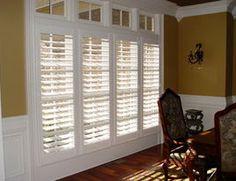Love plantation shutters, so pretty!