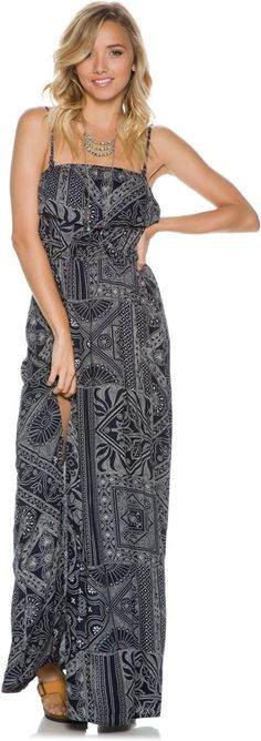 Element Whisk Away Maxi Dress. http://www.swell.com/New-Arrivals-Womens/ELEMENT-WHISK-AWAY-MAXI-DRESS?cs=NV