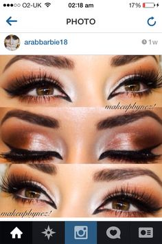 Eyes Hair Makeup, Hair Beauty, Eyes, Nails, Hipster Stuff, Finger Nails, Ongles, Party Hairstyles, Cat Eyes