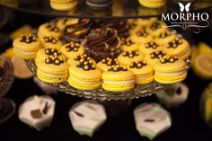 Macarons for Candy Bar @MORPHO Fabulous Desserts & Macarons!