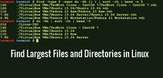 How to Find Out Top Directories and Files (Disk Space) in Linux