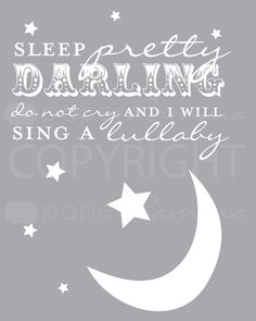 Love this Beatles song! Want this for one of the kids' rooms!