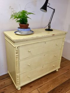 Vintage Chest of Drawers, Painted - Lovingly Made - Antiques & Vintage Furniture - Sussex