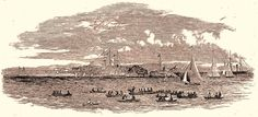 Historic Event - The Balmain Regatta 30 November 1853 Historical Pictures, South Wales, Balmain, Sydney, The Past, November, Australia, Events, History