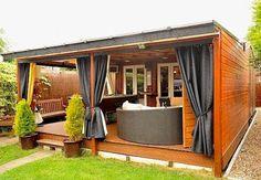 Maison de rêve : une terrasse aménagée en salon