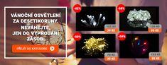 Obrovské slevy vánočního osvětlení na Kokiskashop.cz. Nakupte světelné deště, dekorace, LED kabely i klasické žárovkové řetězy za vynikající ceny. Led