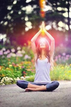 Positive affirmation for the day: My cells are being flooded with pure, healing white light.