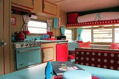 Step Inside This Colorful and Charming Retro Camper  - CountryLiving.com