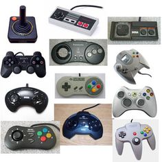 Video Games Control History - Sort of...