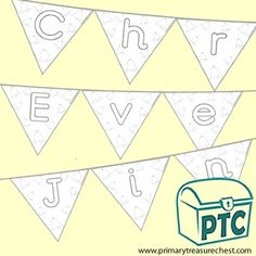 FREE Christmas Eve Jingle Printables - Worldwide Christmas Eve Jingle - Primary Treasure Chest Treasure Chest, Christmas Eve, Bunting, Colouring, Printables, Activities, Lettering, Free, Color