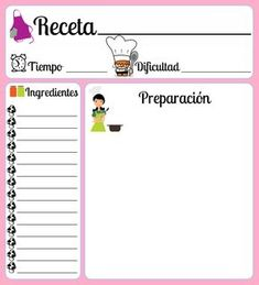 Blog Planner Printable, Printable Labels, Printables, Bullet Journal School, Homemade Recipe Books, Recipe Book Templates, Daily Planner Pages, Recipe Cards, Teaching