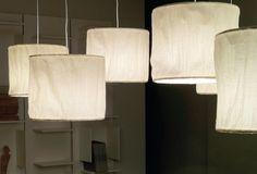Dream Suspension Linen-Lamp by Cattelan Italia I Remodelista