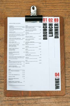 MADE Bar Kitchen 620x934 20 Impressive Restaurant Menu Designs