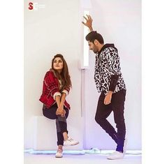 Image may contain: 2 people Fat Girl Outfits, Fashion Outfits, Punjabi Couple, Swag Boys, Famous Singers, Music Icon, Best Model, Actor Model, Cute Couples