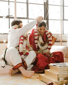 Colorful traditional Hindu ceremony - Indian wedding blue and silver - wedding reception - multicultural wedding Venue: The Astorian Indian Wedding Receptions, Wedding Mandap, Indian Wedding Decorations, Stage Decorations, Wedding Stage, Indian Weddings, Wedding Ceremony, Asian Inspired Wedding, South Asian Wedding