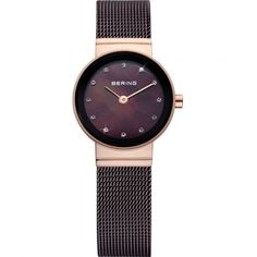ede223024e2 New Bering Time Womens Classic Collection Watch with Mesh Band and scratch  resistant sapphire crystal. Designed in Denmark. Enjoy the absolute best in  ...