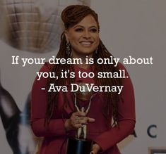 """""""If your dream is only about you, it's too small. Mondays, Monday Motivation, Ava, Picture Video, Evolution, Dreaming Of You, Inspirational Quotes, Socks, Inspired"""