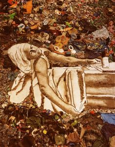"""Vik Muniz. Did this all out of trash. Watched a documentary on it called """"the Wasteland"""" and it's super good!"""