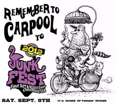 JunkFest. Promotional graphic design content. Some Image, Folk Art, Graphic Design, Content, Music, Artist, Musica, Musik, Popular Art