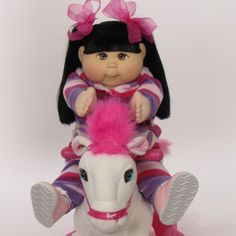 BabyLand Exclusive Kid - Asian Cabbage Patch Kid.