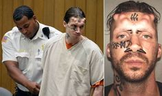 Murder suspect's lawyer fears his horns and 666 tattoo will bias jury