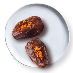 Medjool dates are softer than their semi-dry Deglet Noor cousins and therefore, much easier to stuff with almonds. This healthy snack recipe can also be turned into an addictive appetizer by adding a little blue cheese to the stuffing.