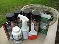 Do It Yourself Air Conditioner Maintenance. Quick and Easy. Cleaning your air conditioner, Lower Utilities,Prevent Breakdowns, Prolong Equipment life, Buy online Cleaning Kit, Cleaning Supplies, Diy Air Conditioner, Hvac Maintenance, Air Conditioning System, Spray Can, Air Freshener, Brush Cleaner, Spray Bottle