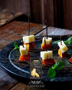 Hauntingly delicious, roasted pumpkin with buttery Castello Aged Havarti is a savoury treat for your Halloween party. Halloween Snacks, Halloween Pumpkins, Halloween Party, Roast Pumpkin, Canapes, Panna Cotta, Treats, Ethnic Recipes, Food