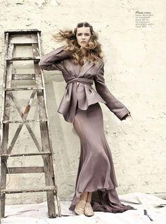 noirfacade: New Romantics | Imogen Morris Clarke by Max Doyle for Vogue Australia March 2012