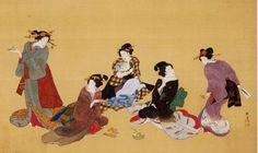 蹄斎北馬 Teisai Hokuba(1770-1844)『五節句図』