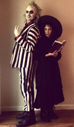 Beetlejuice and Lydia Deetz by xD00Rx.deviantart.com on @deviantART