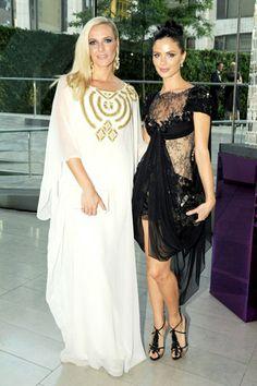 Stunning Marchesa designers, Keren Craig and Georgina Chapman.